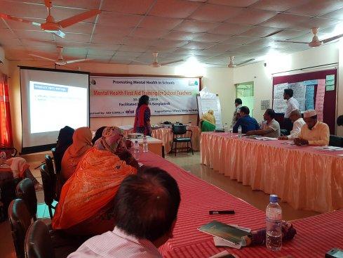 Mental Health Workshop, Mental Health Workshop, Bangladesh